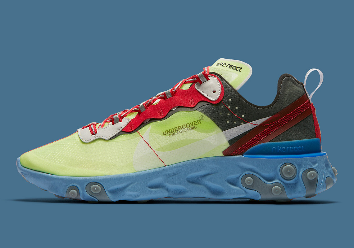 e8f1a5729f0d UNDERCOVER x Nike React Element 87. Release Date  September 13th