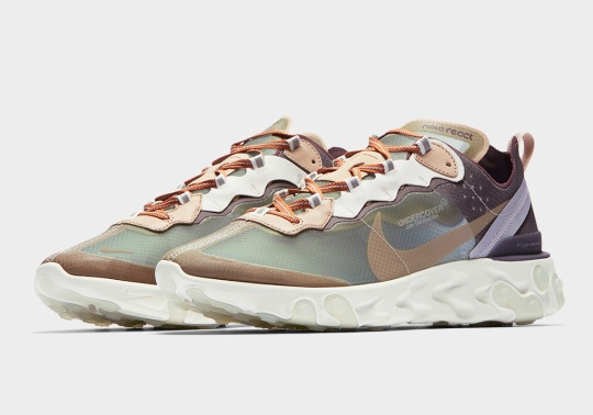 The UNDERCOVER x Nike React Element 87 Is Releasing Soon In Europe