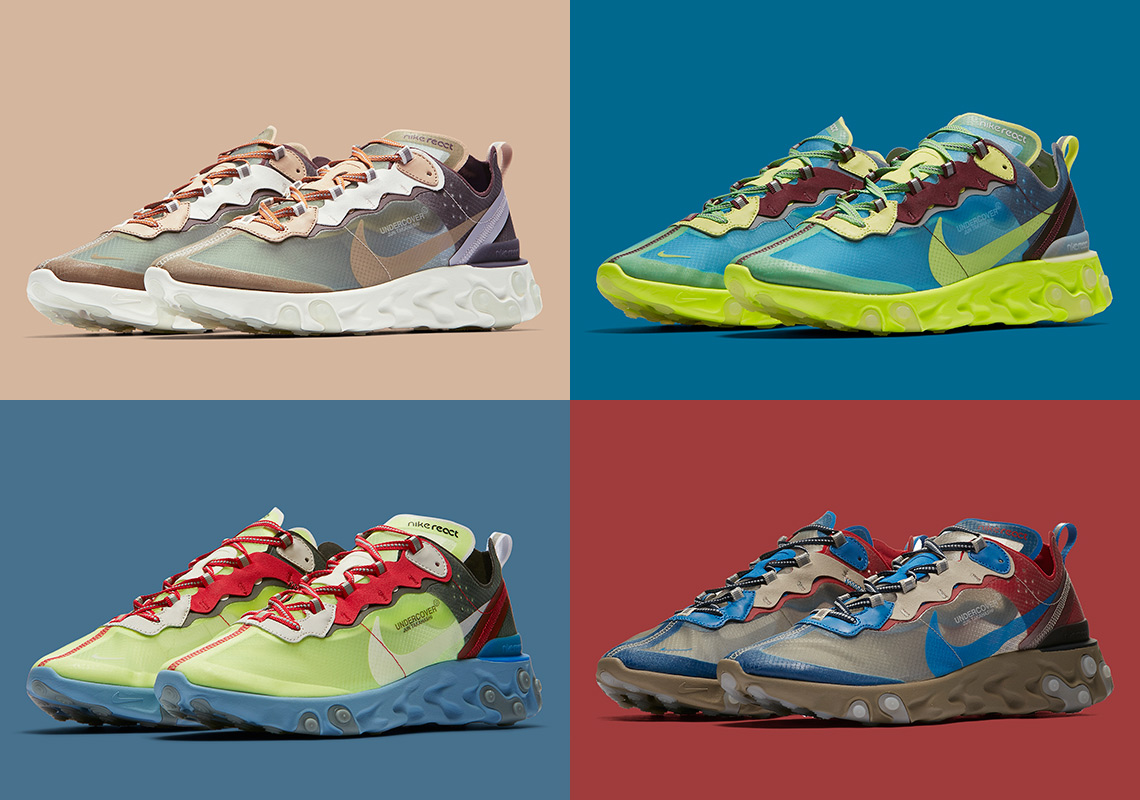 timeless design 31dc6 39218 UNDERCOVER Nike React Element 87 Release Date | SneakerNews.com