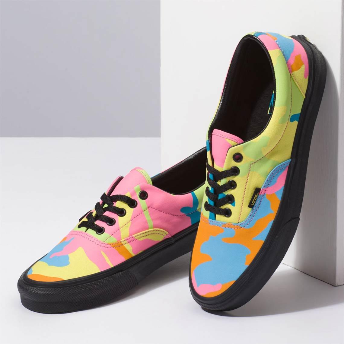 77548e113490b Vans Era Neon Camo Available Now | SneakerNews.com