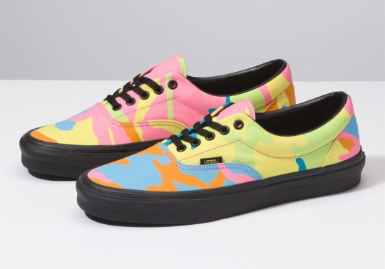 "Vans Drops The Era In ""Multi-Neon Camo"""