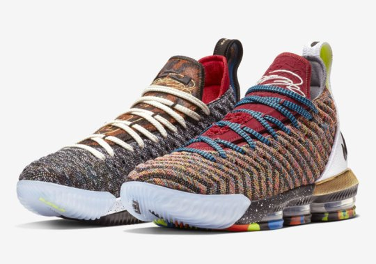 First Look At The What The LeBron 16