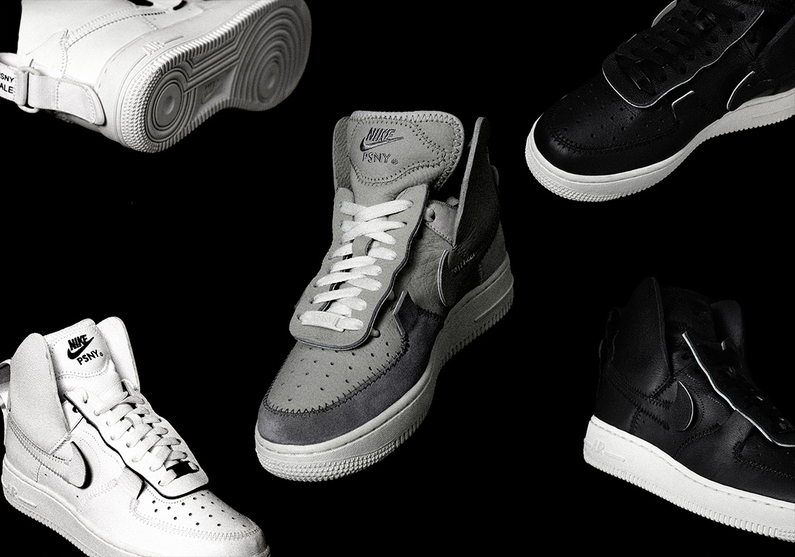 f4a955db83cd Where To Buy The PSNY x Nike Air Force 1 High