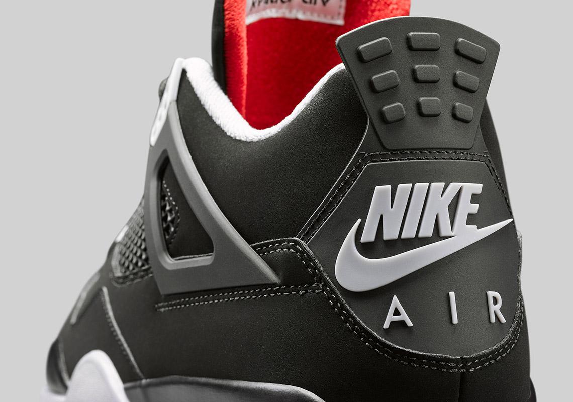 Jordan 4 Bred/Black Cement 2019 Release