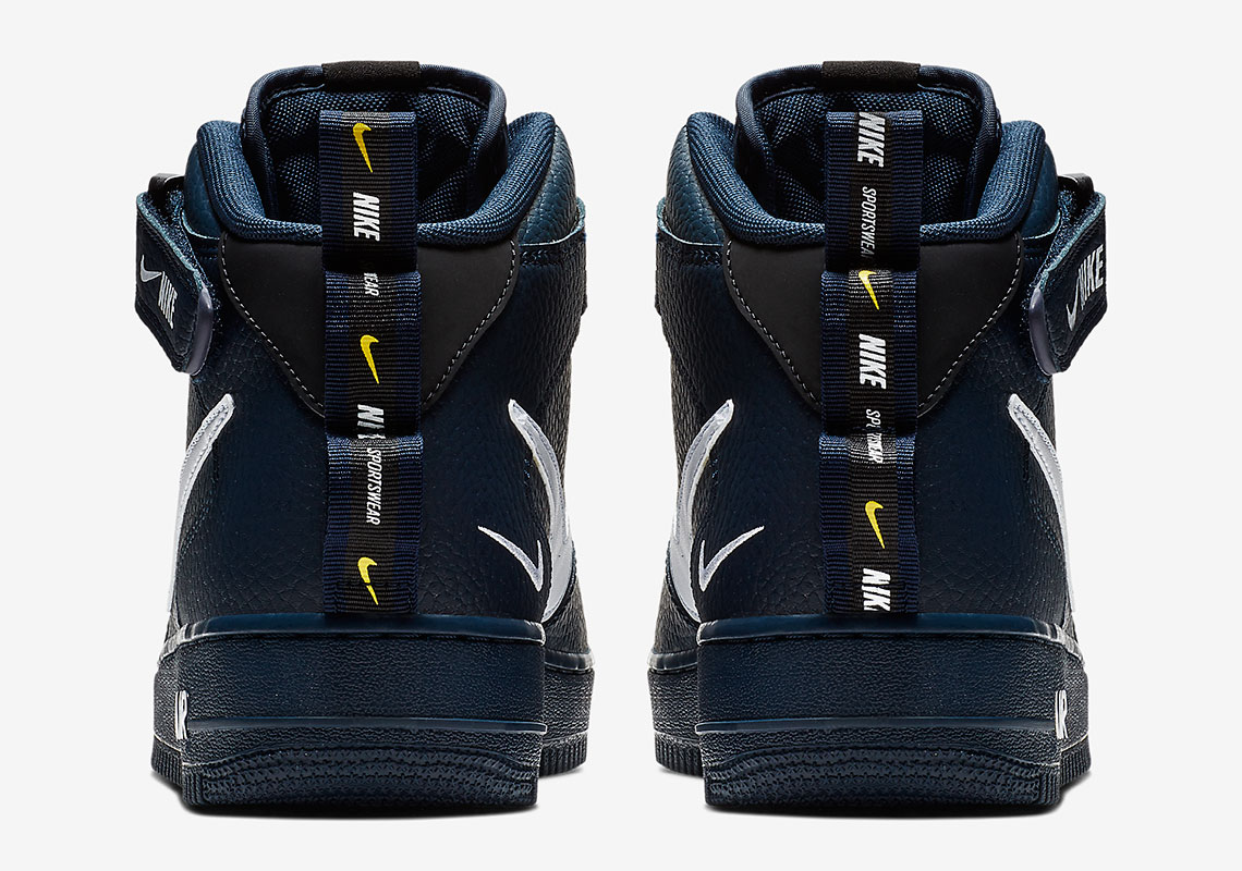 Nike Air Force 1 Mid Utility Navy