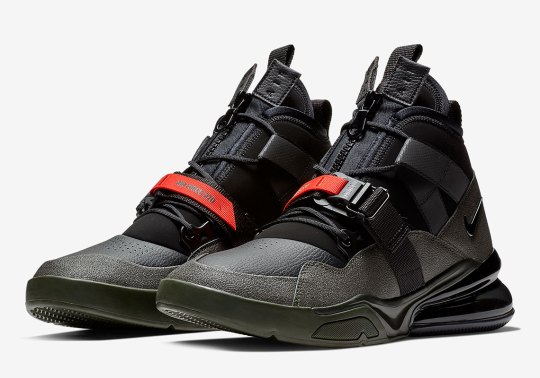 The Nike Air Force 270 Utility Arrives In Military Tones Of Sequoia And Black