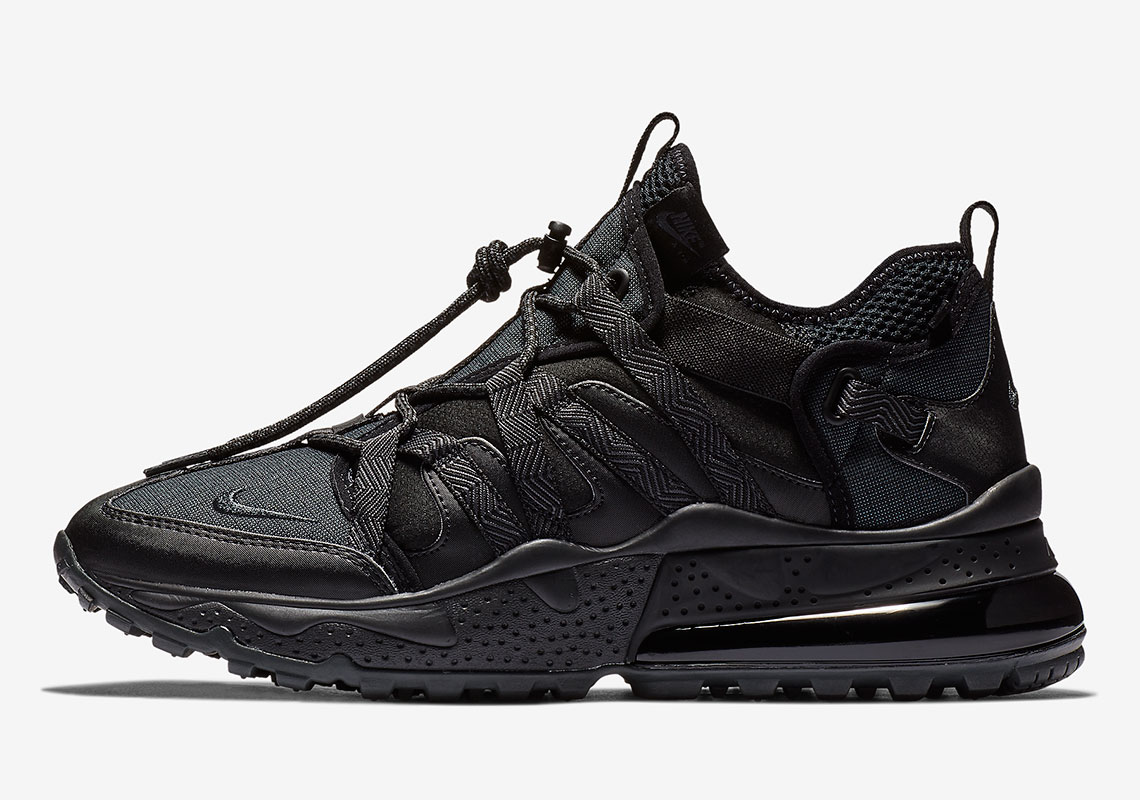 286288754d9f7 The Nike Air Max 270 Bowfin Receives the Triple Black Treatment