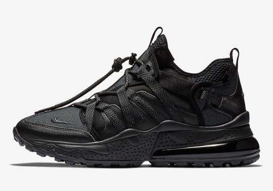The Nike Air Max 270 Bowfin Receives the Triple Black Treatment