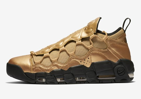 This Nike Air More Money Resembles A Bar Of Gold