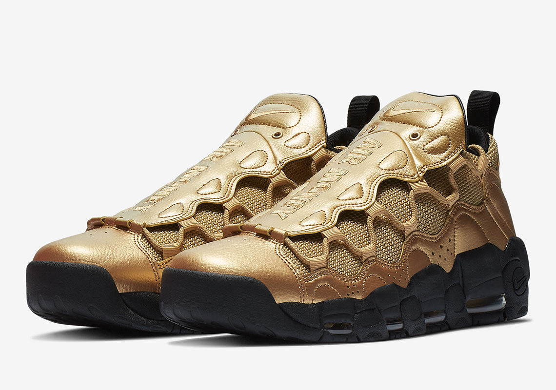 big sale 20409 e4456 This Nike Air More Money Resembles A Bar Of Gold
