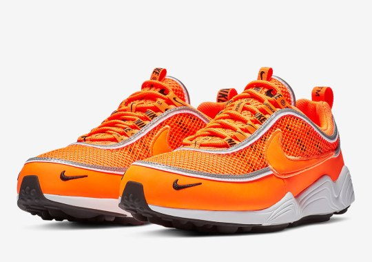 The Nike Zoom Spiridon Is Releasing Soon In A Hazardous Orange