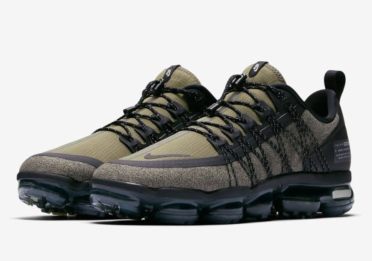 The Nike Vapormax Run Utility Is Releasing In Olive Green