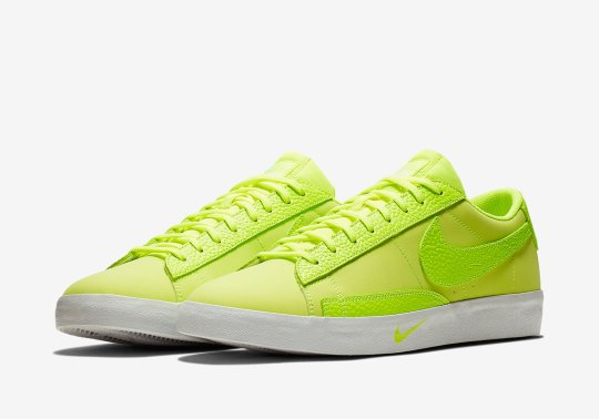 The Nike Blazer Low Gets Bright With Full Volt