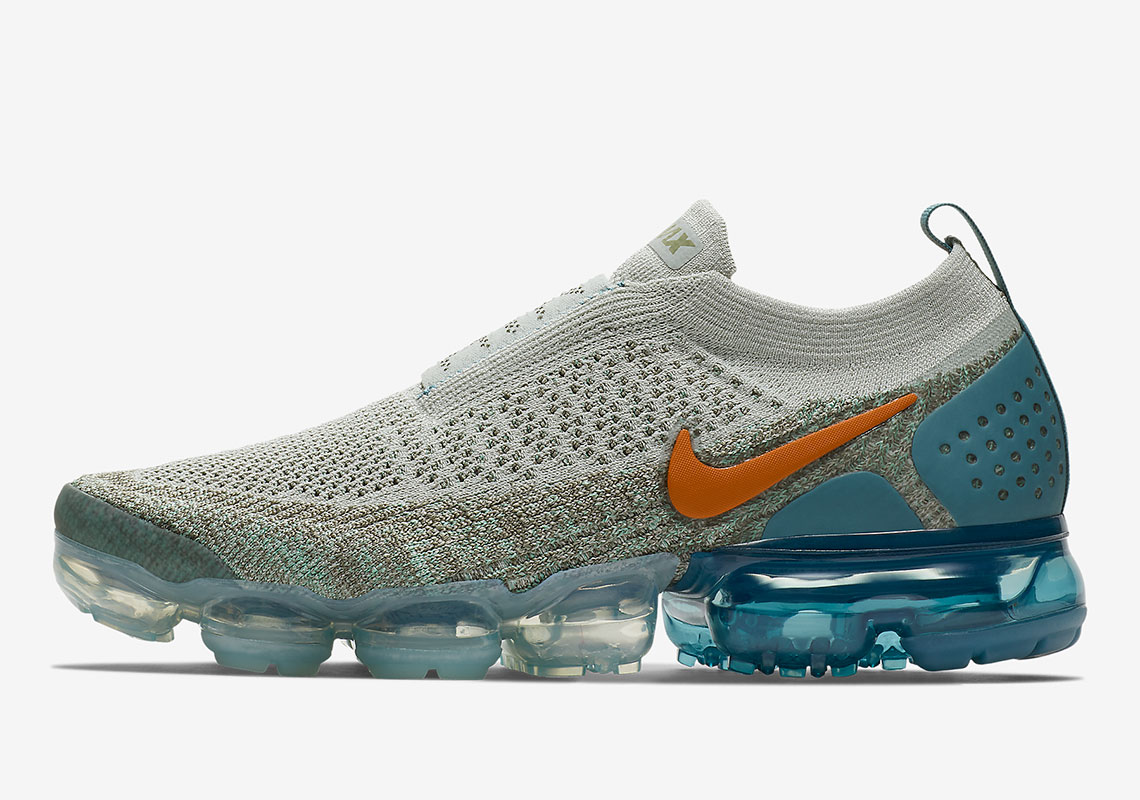 on sale 40053 705d4 The Nike Air VaporMax Moc 2 Arrives In Colorful Array Of Orange And Teal