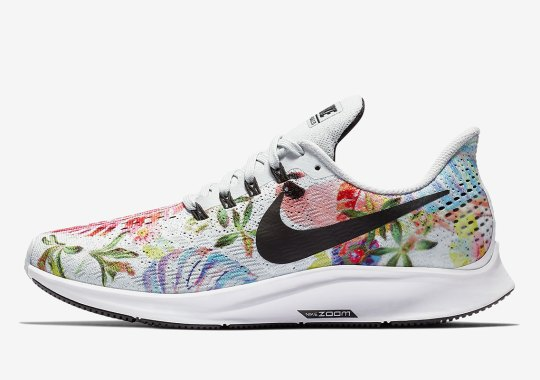 """The Nike Zoom Pegasus 35 Just Released In """"Floral"""""""