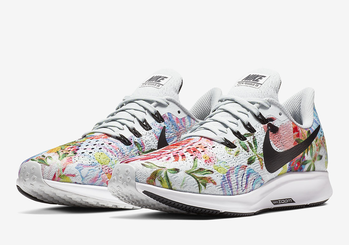 """huge selection of 8ad7a 2606f The Nike Zoom Pegasus 35 Just Released In """"Floral"""""""