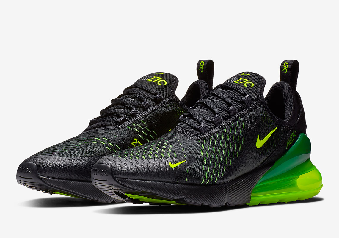 huge selection of 5968f c3386 Nike Air Max 270 Slime AH8050-017 Release Info   SneakerNews.com