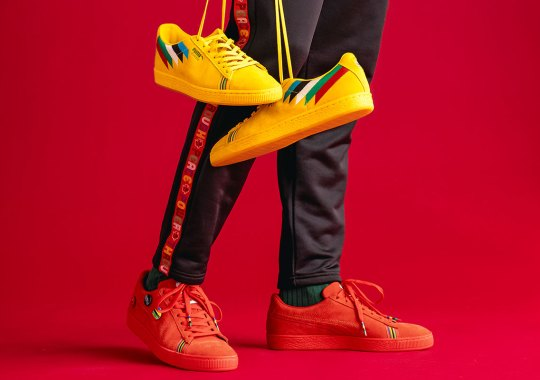 """Puma Celebrates Tommie Smith and the Olympic Games with """"PWR THRU PEACE"""" Capsule"""