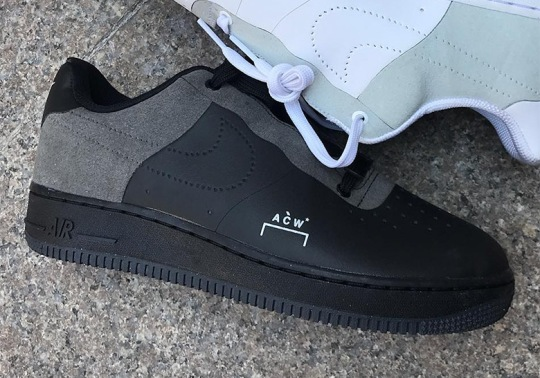 A-COLD-WALL And Nike Are Releasing An Air Force 1 In Black
