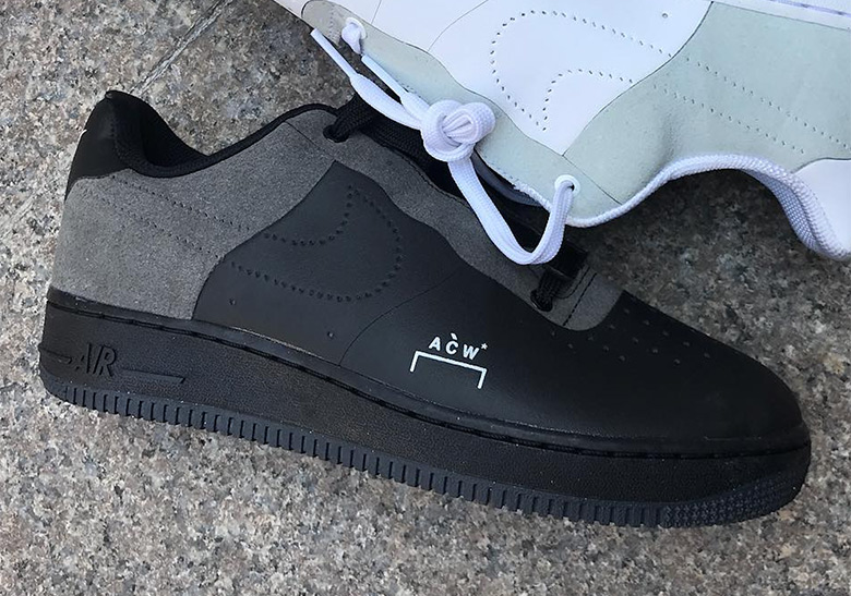 20b099488d A-COLD-WALL And Nike Are Releasing An Air Force 1 In Black