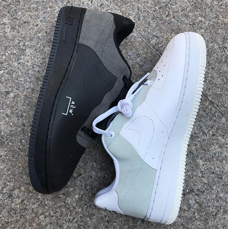 various colors f6b60 0c267 A-COLD-WALL Nike Air Force 1 Black Release Info ...