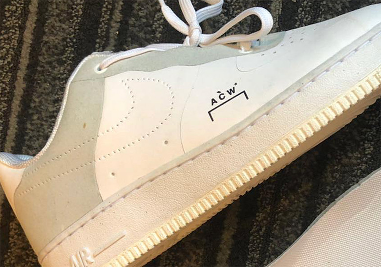 c32728d0ed9f0d A Cold Wall Nike Air Force 1 Low White Release Info