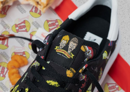 adidas And Beavis And Butthead Drop Their Burger World Inspired Shoes In November