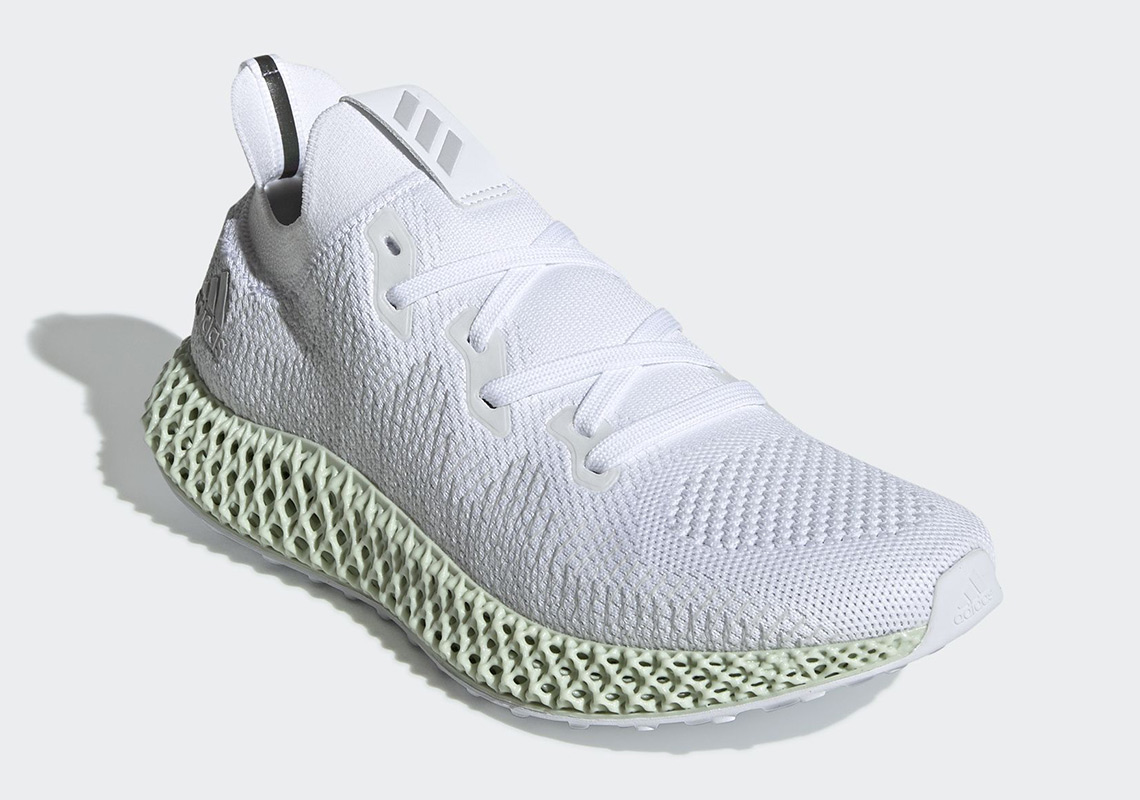 0dfe047abd73 adidas Alphaedge 4D Footwear White Core Black Grey Two CG5526 ...