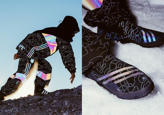 BAPE And adidas Snowboarding Unveil Full Collection With Reflective 1st Camo Print