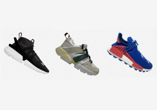 adidas To Release Pusha T, Pharrell, NERD, Dragon Ball Z, And More At Complex Con