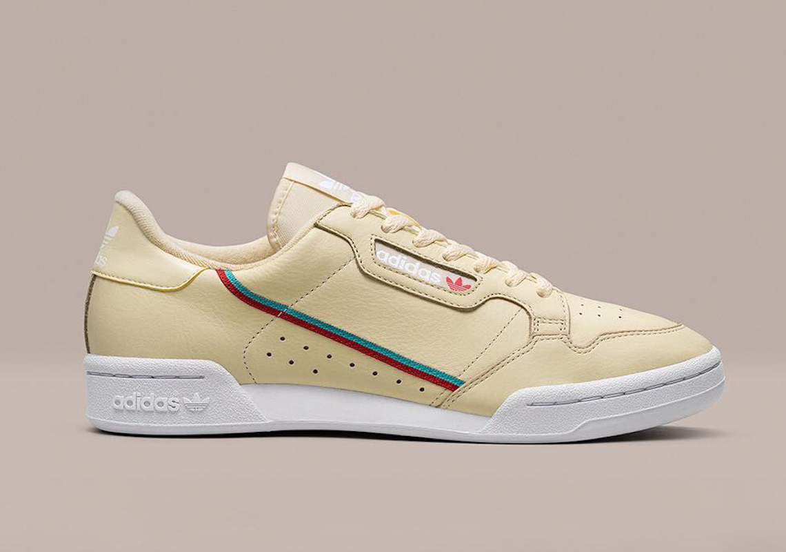size 40 0337e 68305 adidas Continental 80. Release Date November 1st, 2018 80. Color Mist  SunHi-Res AquaScarlet Style Code AQ1054