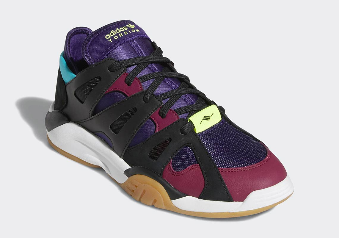 new styles 7e1d2 fd14a adidas Adds a Dark Plum Colorway to the Dimension Low Silhouette