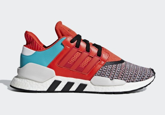 The adidas EQT Support 91/18 Adds A Multi-Color Knit