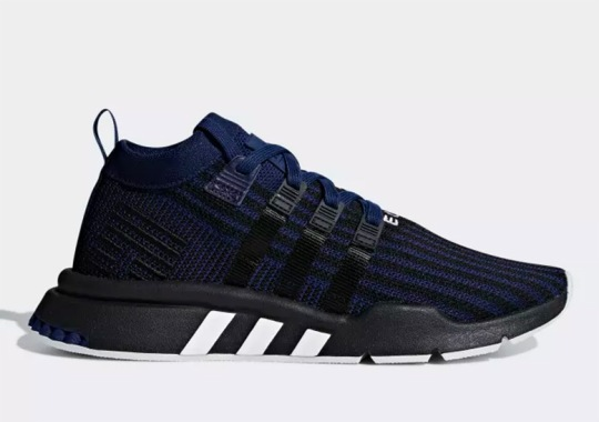 The adidas EQT Support Mid ADV Is Releasing Soon In Black And Navy