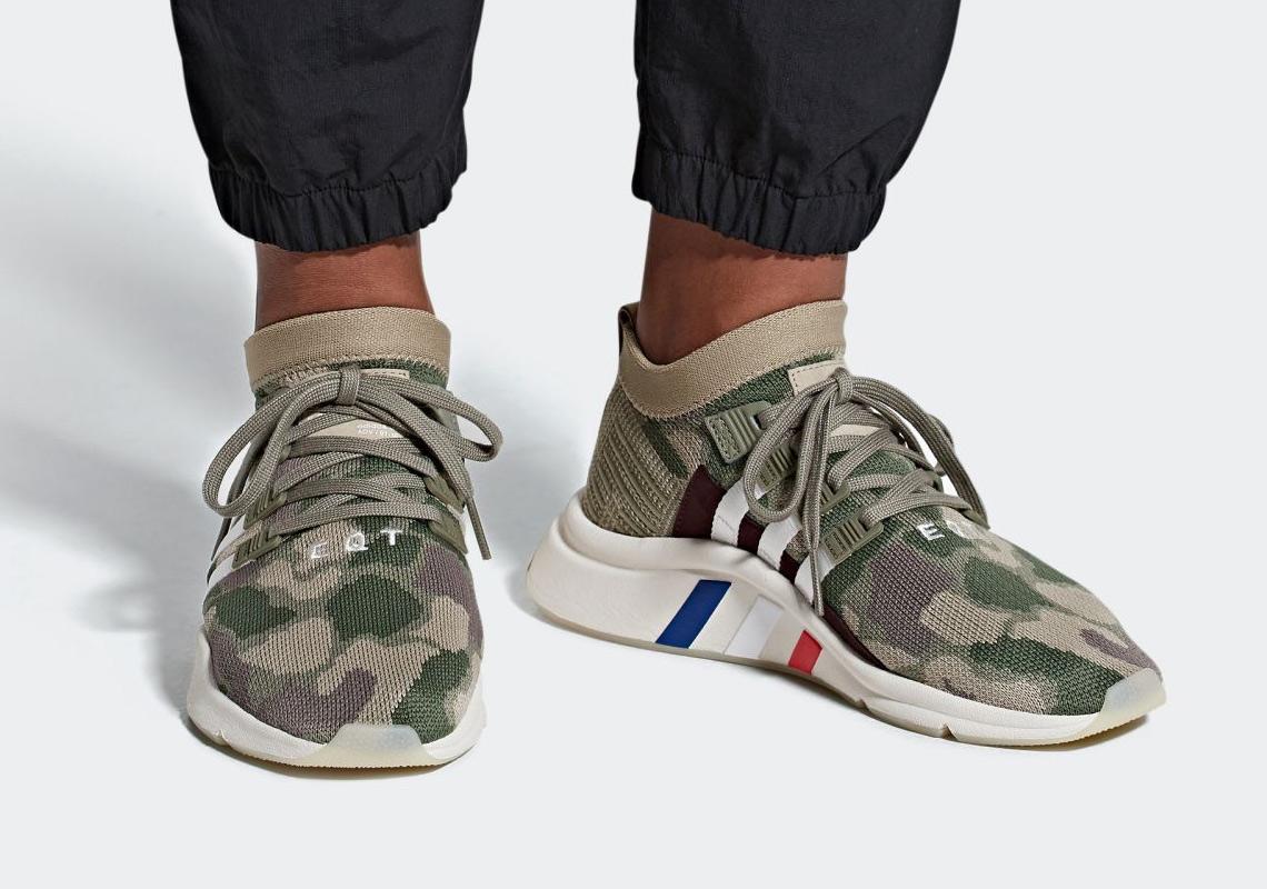 Dedos de los pies aleación Vinagre  adidas EQT Support Mid ADV Camo B37513 Release Info | SneakerNews.com