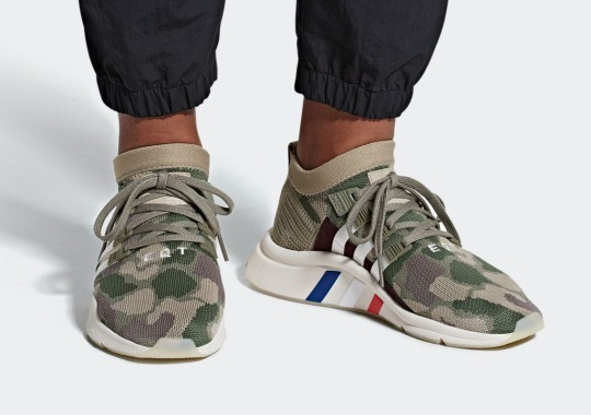 Camo Prints Arrive On The adidas EQT Support Mid ADV