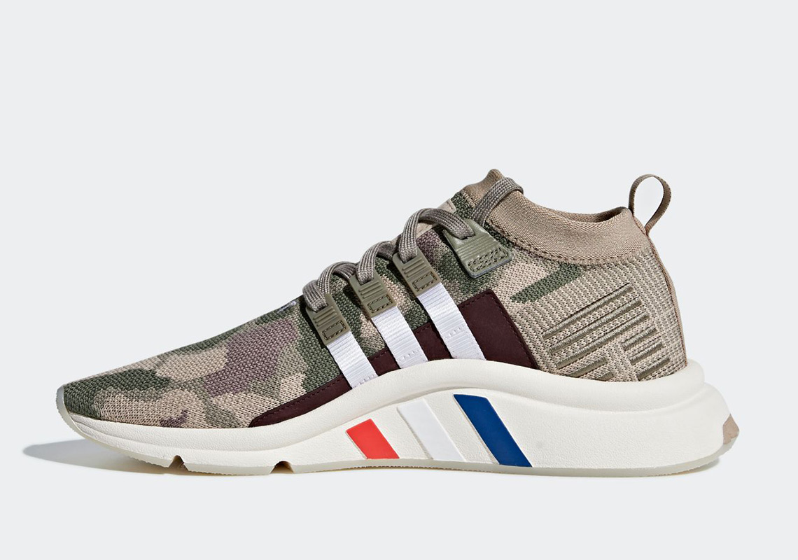quality design 487c3 85f0e adidas EQT Support Mid ADV Color Trace KhakiTrace CargoCore White Style  Code B37513. Where to Buy. 43einhalb Available