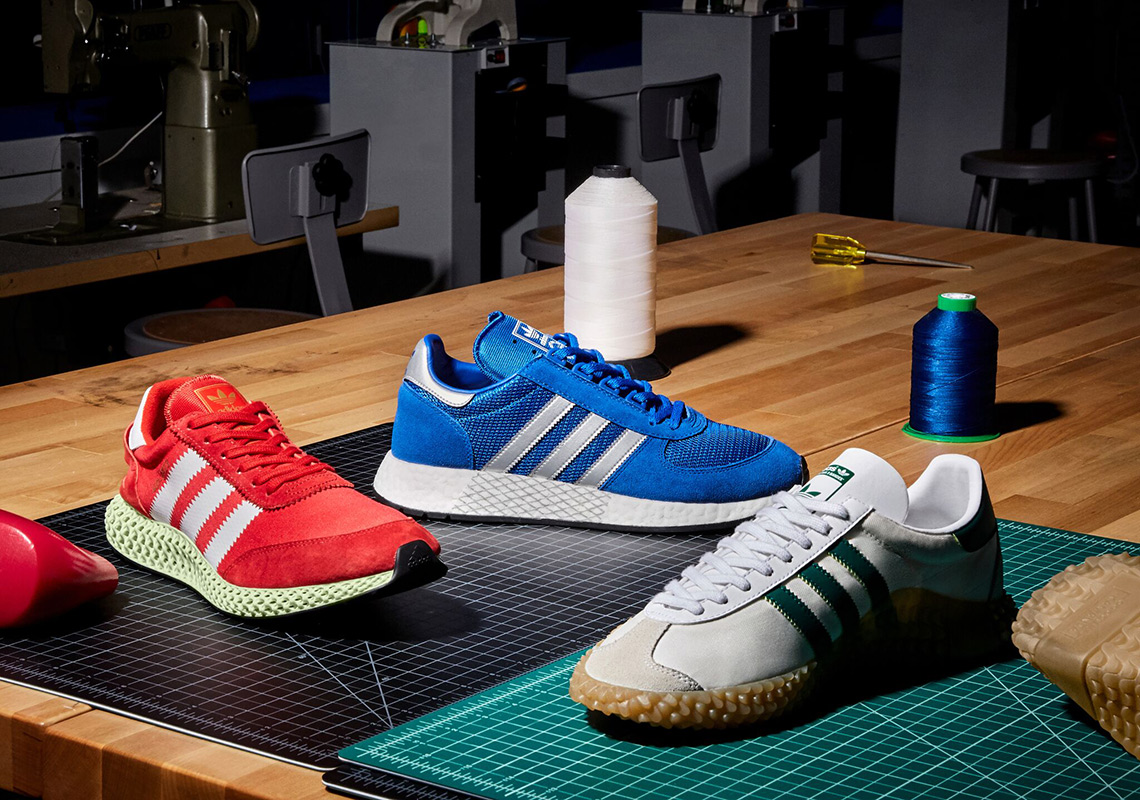 buy popular 73f33 450f0 adidas Originals Unveils The Never Made Collection