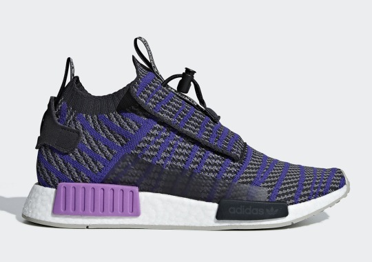 The adidas NMD TS1 Is Coming Soon In New Purple And Grey Colorway