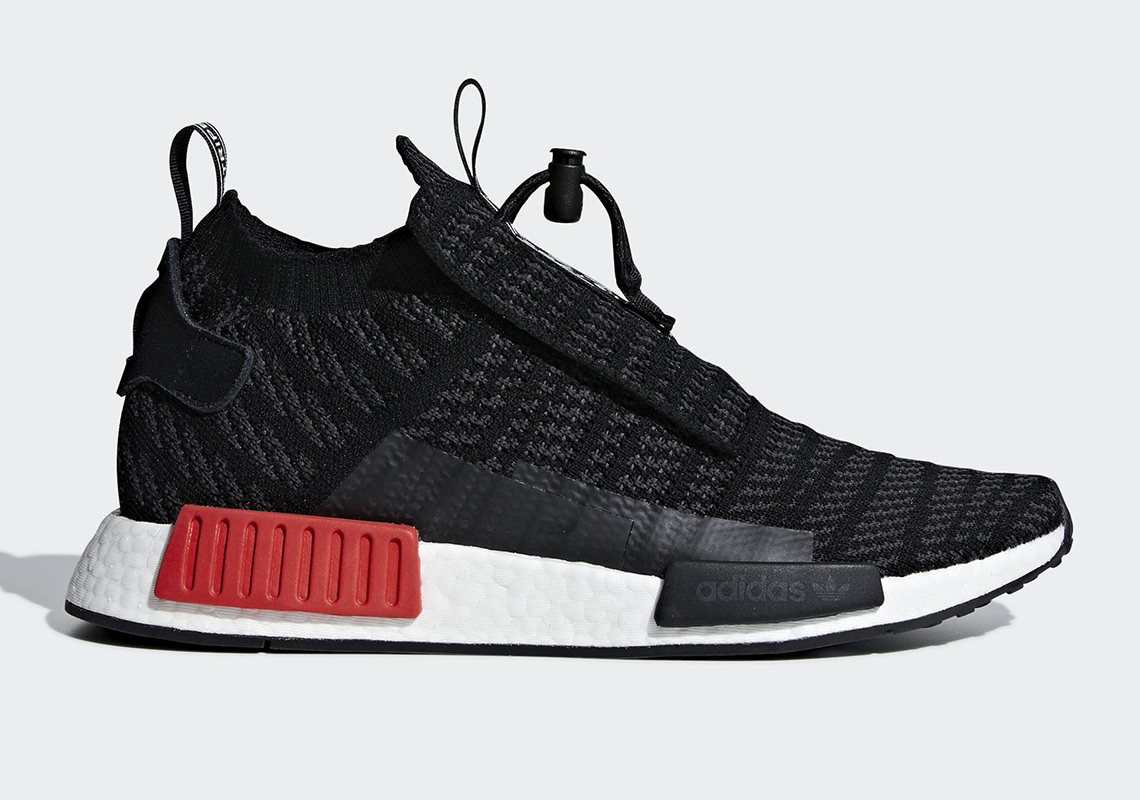 "529f9e382 The adidas NMD TS1 Arrives In A ""Bred"" Colorway"
