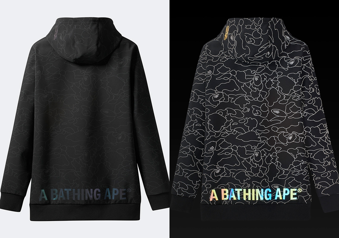 bape adidas hoodie
