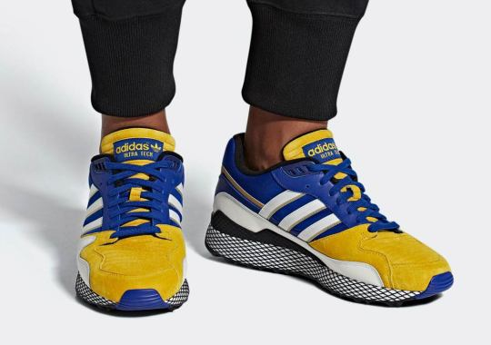 Vegeta's adidas Dragon Ball Z Ultra Tech Is Releasing In November