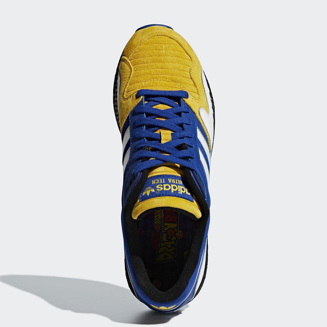 watch 6fb1c e8b69 adidas Dragon Ball Z Ultra Tech Vegeta D97054  SneakerNews.c