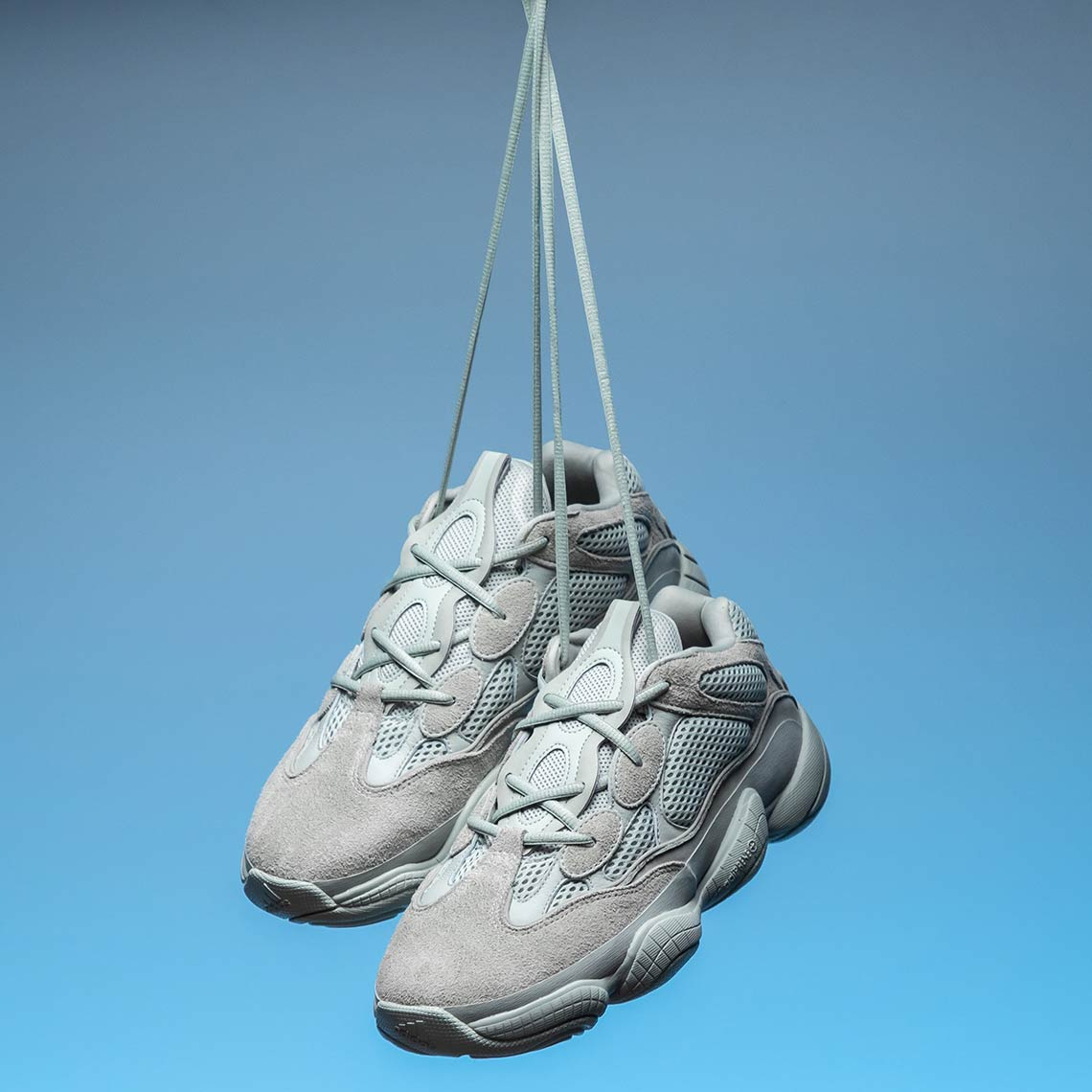 new style 50318 42f42 adidas Yeezy 500 Salt EE7287 First Look   SneakerNews.com