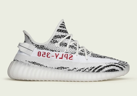 "Where To Buy The adidas Yeezy Boost 350 v2 ""Zebra"""