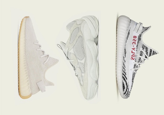adidas Yeezy Release Dates For November 2018