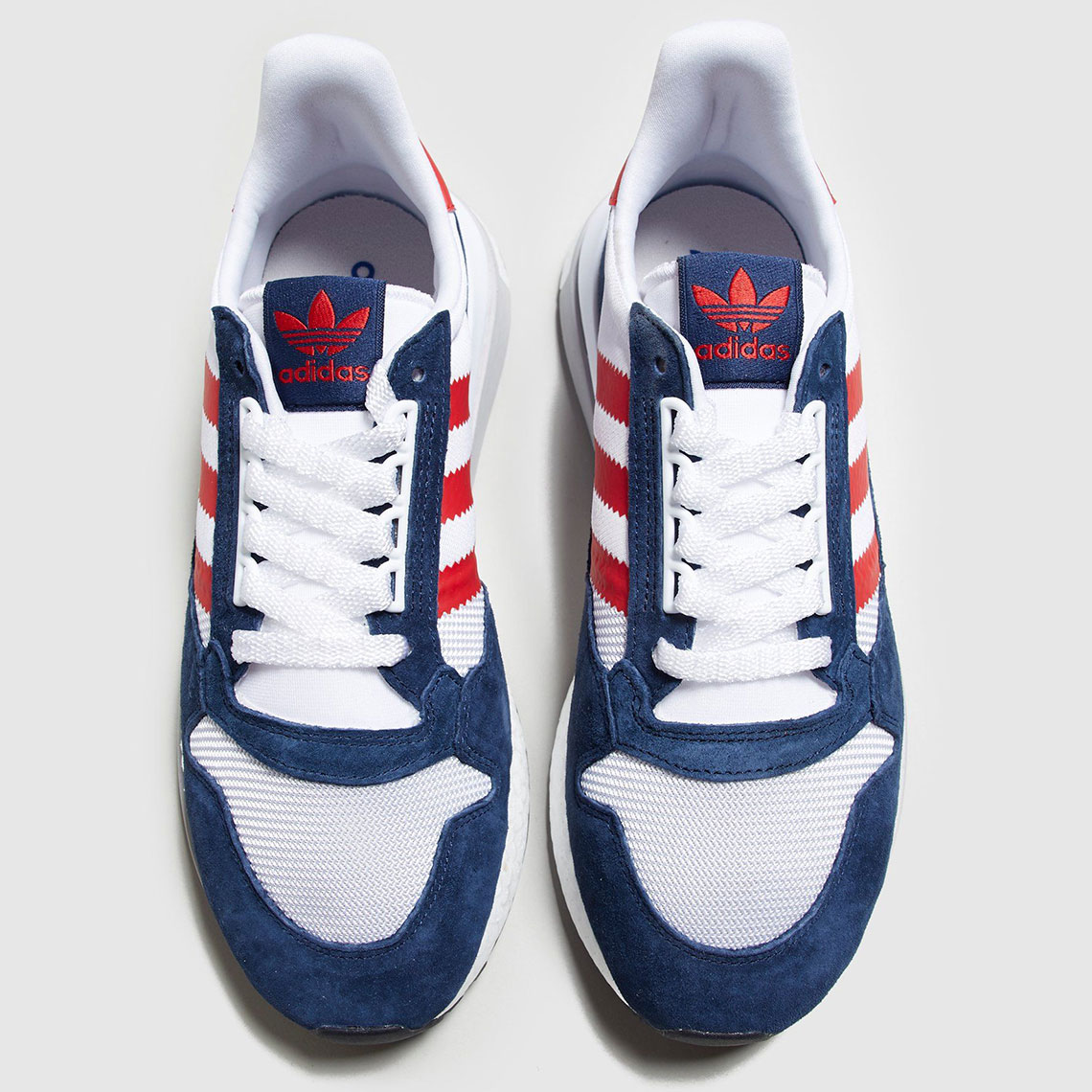 sports shoes f38e3 5a37f adidas ZX 500 RM Navy Red   SneakerNews.com