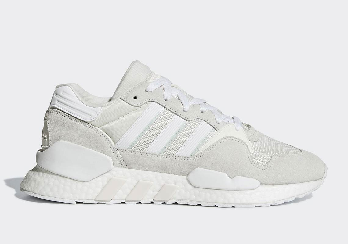 435d8827975 The adidas ZX930 EQT Boost Surfaces In White And Grey