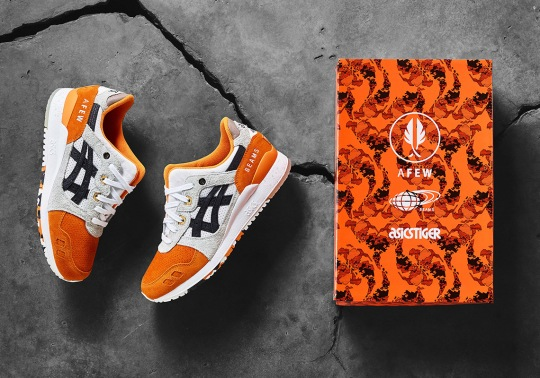 "afew, BEAMS, and ASICS Tiger Reveal The Gel Lyte III ""Orange Koi"""