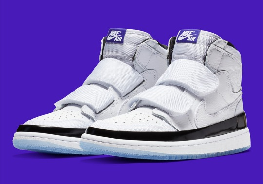 The Air Jordan 1 Double Strap Will Make Concord Lovers Proud